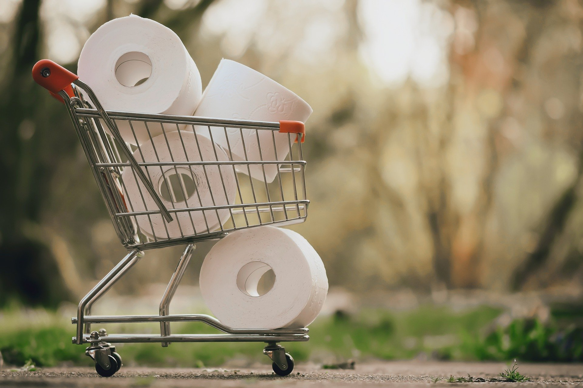 A debt crisis is breaking out in light of the coronavirus, hoarding, and inflated costs for basic necessities such as toilet paper.