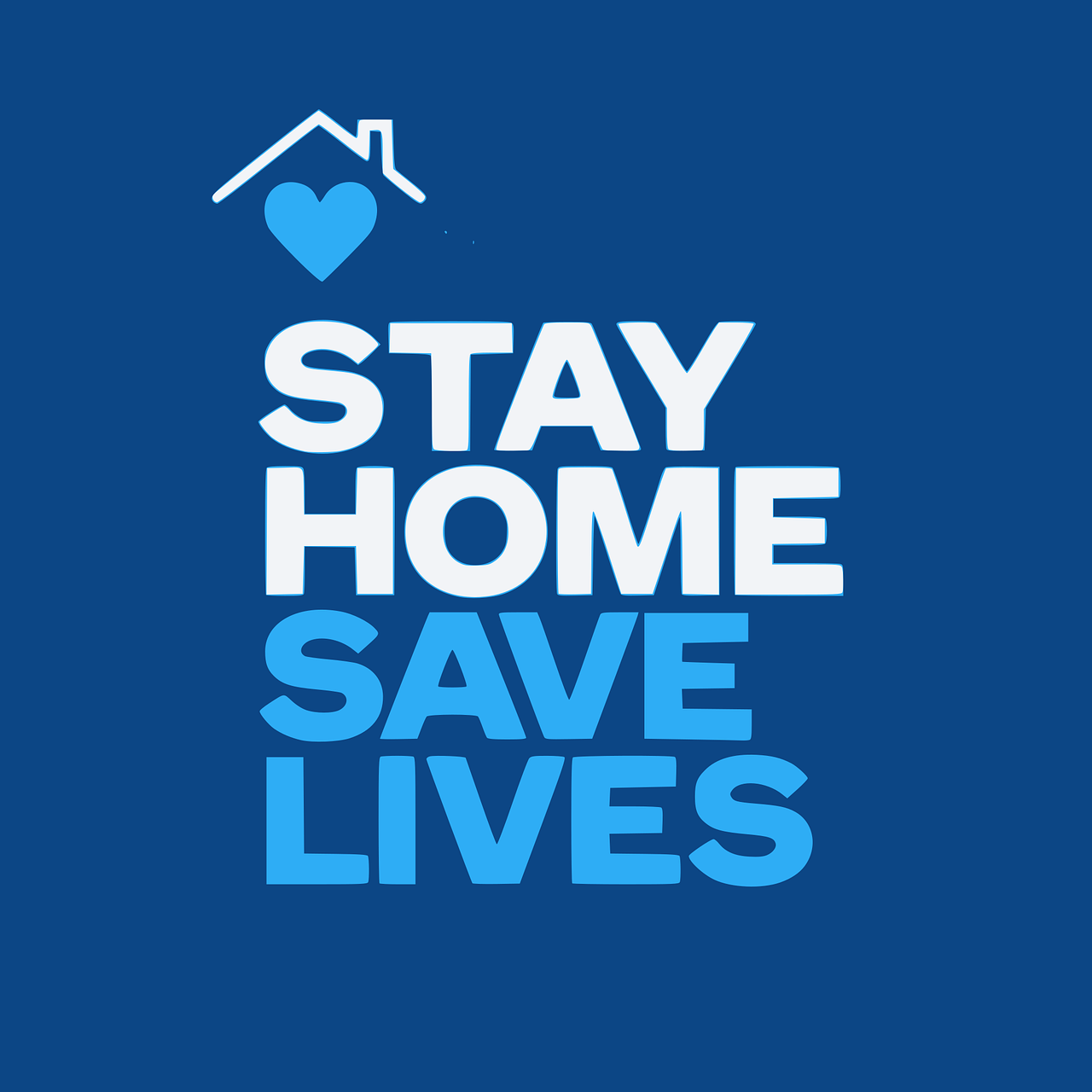 The first of our pandemic priorities is to stay home and save lives.
