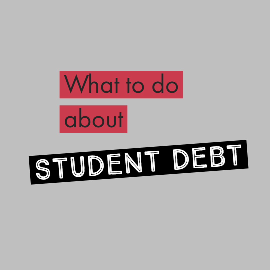What do with student loan debt