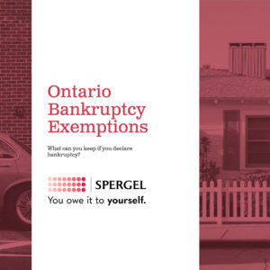 ontario banrkuptcy exemptions